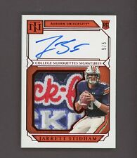 2019 National Treasures Red Jarrett Stidham RPA RC Logo Patch AUTO 5/5