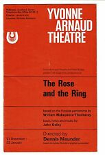 The Rose and the Ring Yvonne Arnaud Theatre Program