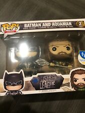 Funko Pop! Heroes Batman and Aquaman 2 pack Fye Exclusive Dc Justice League A1