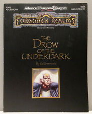 Advanced Dungeons & Dragons: Forgotten Realms The Drow of the Underdark