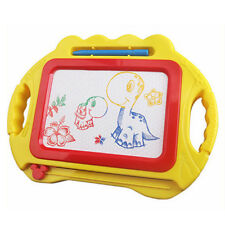 Creative Kids Doodle Toy Educational Erasable Magnetic Drawing Board w/ Pen