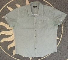 New Look Men's Patterned Short Sleeve Shirt Size Large