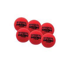 Karakal Mini Red Foam Tennis Balls - 1 Dozen