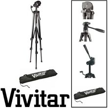"Vivitar Pro Tripod 62"" with Case For PANASONIC HDC-SD80 HDC-TM40K HDC-Z10000"