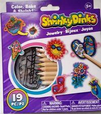 Shrinky Dinks Jewelry Girls 19 precut shrinky dinks 493J Alex NEW Ages 5+