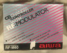 NIB AIWA RF-M60 CD Changer Controller W/ RF-Modulator For ADC-EX106/M60