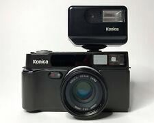 Konica Hexar Af 35mm Rangefinder Film Camera and Flash