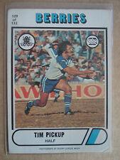 1976 Tim Pickup #109 - Canterbury