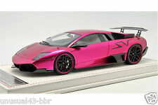 1/18 Davis Giovanni Lamborghini LP670 SV Chrome Flash Pink Free Shipping/ MR BBR