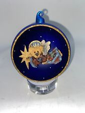 Boyds Bears Resin Mckenzine Shooting Star Glass Christmas Bearstone 25952Gcc