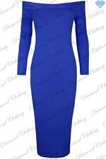 Vestiti da donna blu lunghezza al polpaccio taglia M