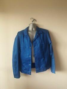 "Ex-rental Welding jacket + bib&braces FR size M 40"" chest NOMEX #458"