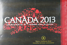 2013 Royal Canadian Mint Canada 6 Coin Uncirculated Set