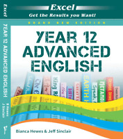 NEW EXCEL YEAR 12 ADVANCED ENGLISH STUDY GUIDE FREE SHIPPING