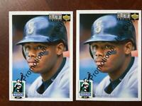 1993 Upper Deck Collector's Choice Ken Griffey Jr. #50 Seattle Mariners Promo x2
