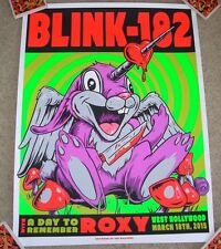 Blink 182 concert gig poster print West Hollywood 2015 3-18-15 ian williams