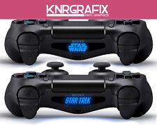 KNR4063 STAR WARS & STAR TREK Custom PS4 Dualshock Lightbar Decal Playstation 4