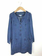 e8f2dd4015d Boden Women s Linen Blend Blue Dresses