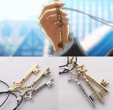Cool Attack on Titan Eren's Key Necklace Anime Pendant Chains Collectable Gifts