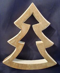 Weihnachtsbaum Weihnachtsdeko Mangoholz Holzdekoration Weihnachten Christbaum