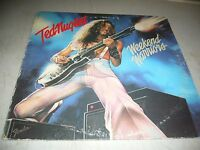 TED NUGENT WEEKEND WARRIORS LP VG+ Epic FE35551 1978