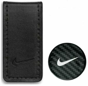 Nike Golf Pocket Money Clip and Ball Marker N71451 Black NEW #68144