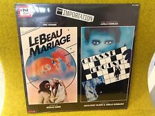 rare LP BO OST - LE BEAU MARIAGE / CHASSÉ CROISÉ - GIRE/ VALERO & DOMBASLE- neuf