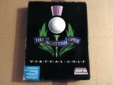 "PC THE SCOTTISH OPEN - VIRTUAL GOLF Core 1994 3+ (MS DOS - 3.5"" Floppy Disc) Sim"