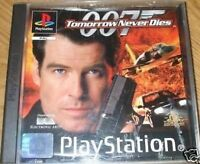 007 Tomorrow Never Dies SONY PLAYSTATION 1 Will also work on PS2 PS3