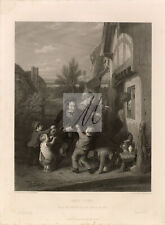 1853 Fair Time From the Picture in the Vernon Gallery - Original Print #D662