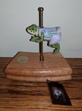 The Great American Carousel Frog by Tobin Fraley Music Box 5th Edition 613/9500
