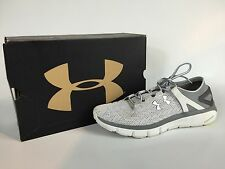 Under Armour UA Speedform Fortis Men's Gray And White Sneakers Size 11