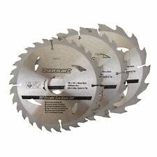 3 Pack 165mm TCT Circular Saw Blades to suit DEWALT DC390, DWE007, DCS391, DC...