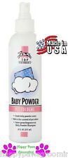 "PET PRO GROOMING ""BABY POWDER"" Pump Spray Mist  Spritz COLOGNE PERFUME DOG CAT"