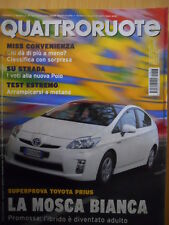 Quattroruote 647 2009 - Super Toyota Prius - Sfida Alfa 159 vs Seat Exeo   [Q45]