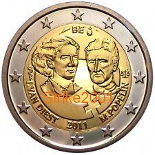 2 EURO COMMEMORATIVO BELGIO 2011 100° Giornata della Donna