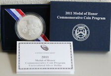 2011 Medal of Honor Silver Dollar US Mint UNCIRCULATED Army BU Coin Box and COA