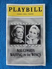 Waiting In The Wings - Eugene O'Neill Theatre Playbill - March 2000 - Bacall