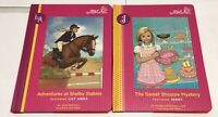 Lot of 2 Our Generation Books Hardcover #6 Lily Anna  #7 Jenny Horses Baking HC