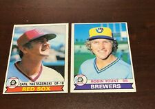 1979 OPC Opeechee Canadian #41 Robin Yount HOF Milwaukee Brewers