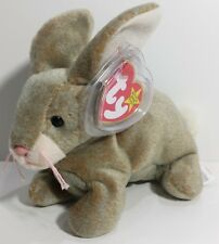 """TY Beanie Babies """"NIBBLY"""" Easter Bunny RABBIT - MWMTs! RETIRED! PERFECT GIFT!"""