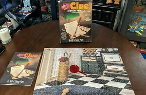 Clue Mystery Puzzle To Kill A Dying Man 500 PC -1995 Parker Bros 1 PC Missing!