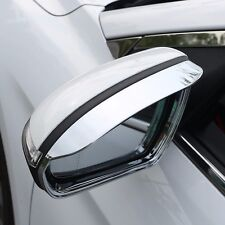 Chrome Side Mirror Rain Snow Shield Guard For Hyundai Elantra 2017+