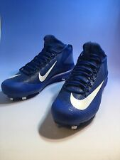 Nike Mike Trout Blue Metal Baseball Cleats Mens Size 13