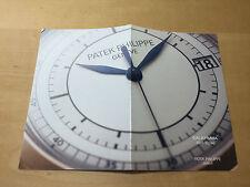Booklet PATEK PHILIPPE New Model 2006 - Calatrava Ref. 5296 - All Languages