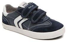 Geox Jungen J Kiwi B.M Sneakers Sportschuhe Marineblau/nicht-gerade weiss NEU