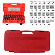 23Pc Car Electrical Terminal Wiring Crimp Connector Pin Remover Release Tool Set