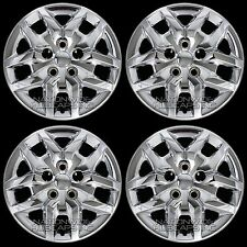 "4 Chrome 2013-2018 Dodge Journey 17"" Bolt on Hub Caps Full Rim R17 Wheel Covers"