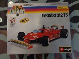 Burago Ferrari 312 t5 1/14 Vintage #ebayheroes