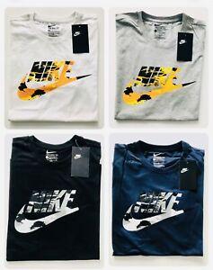 Nike Mens Tee Short Sleeve 100% Cotton T-Shirt Original  Crew Neck Tops